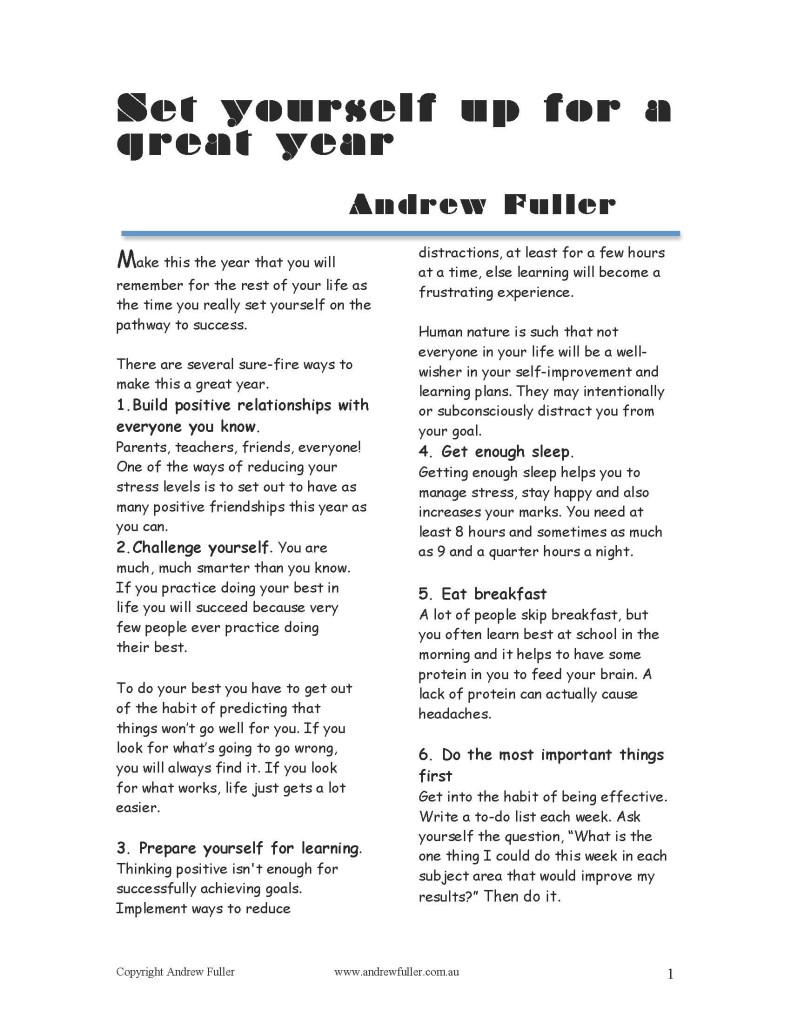 Set yourself up for a good year_Page_1